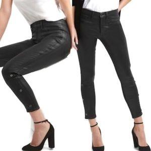 Gap Inner Cozy coated Vegan leather look legging